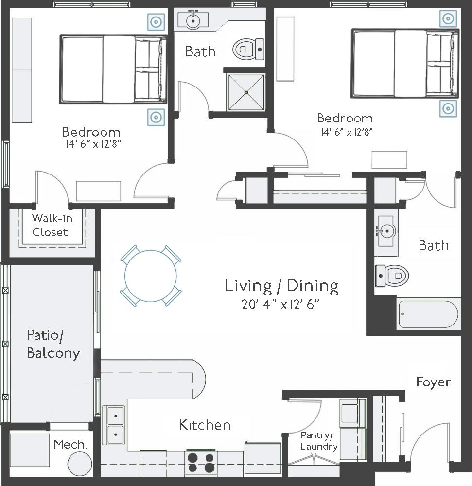 apartment A-304 thumbnail