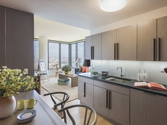 Thumbnail of The Ashland: PH2G a kitchen with a sink and a dining table