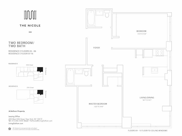 The Nicole #12E Floorplan