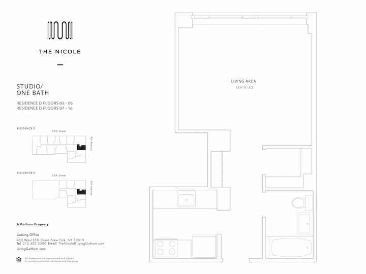 The Nicole #6D Floorplan