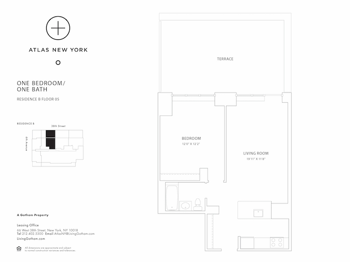 Atlas New York #05B Floorplan