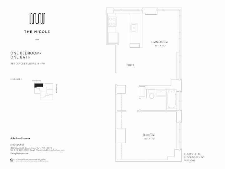 The Nicole #18E Floorplan