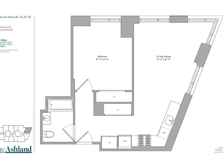 The Ashland #21K Floorplan