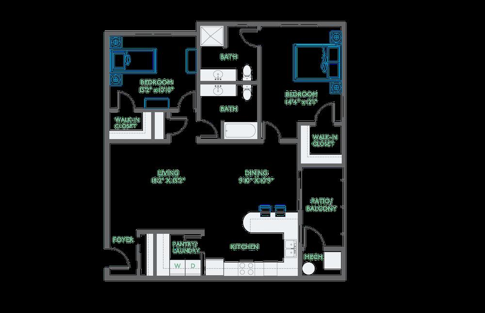 apartment B-307 thumbnail