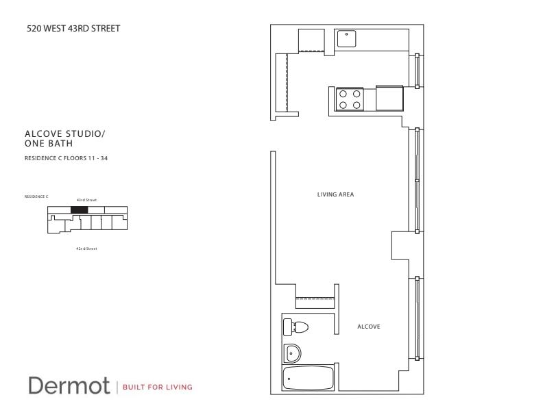 Floor plan for 30C