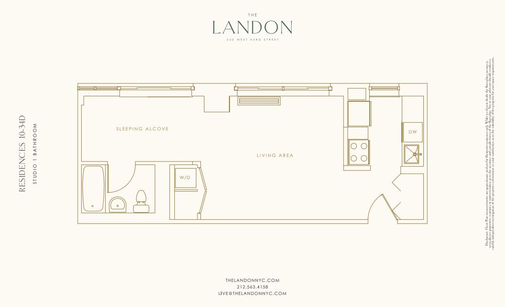 Floor plan for 19D