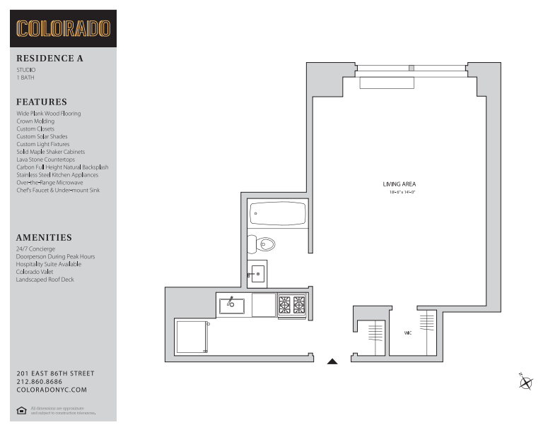 Floor plan for A90A
