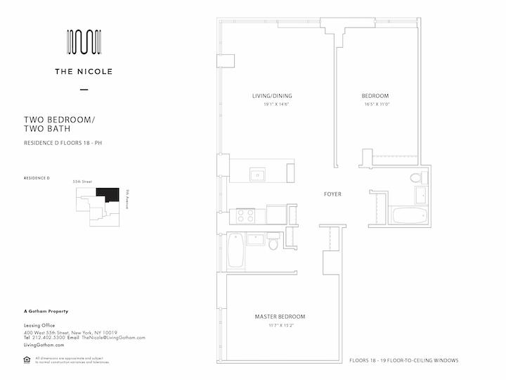 The Nicole #18D Floorplan