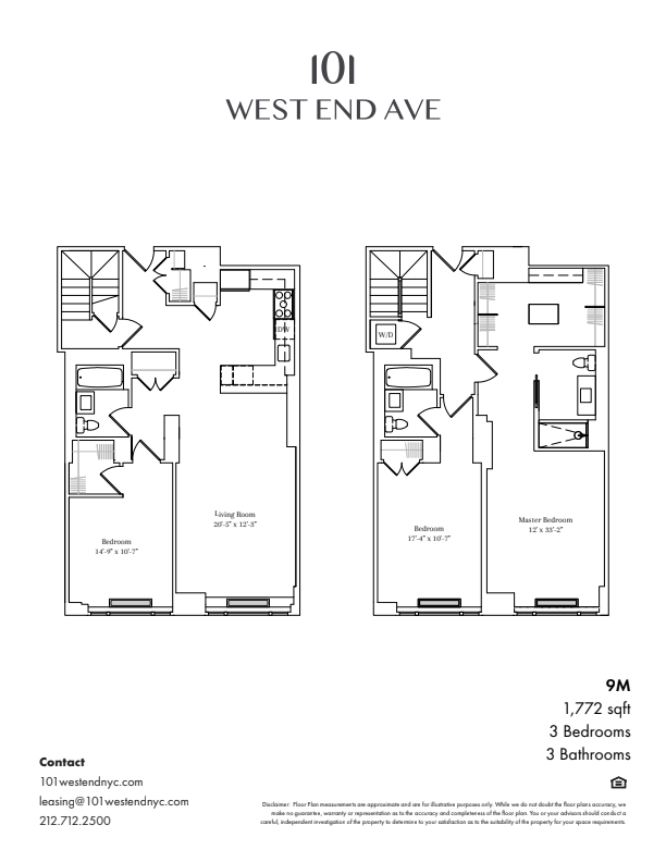Floor plan for 7M