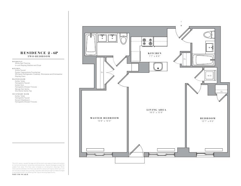 Floor plan for 3P