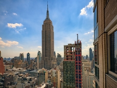 Thumbnail of Atlas New York: 17A a view of a city with tall buildings in the background