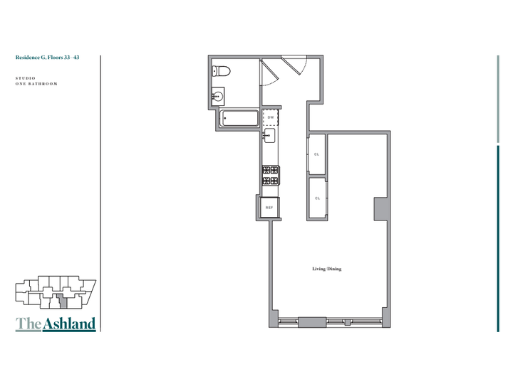 The Ashland #33G Floorplan