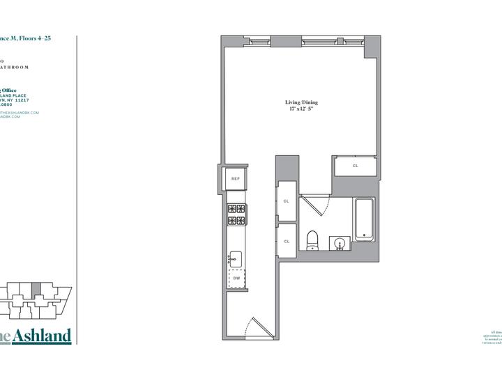 The Ashland #21M Floorplan