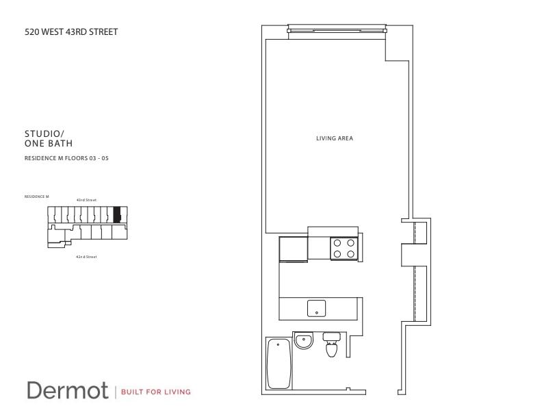 Floor plan for 5M