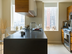 Thumbnail of Gotham West: 823 a kitchen with a sink and a window