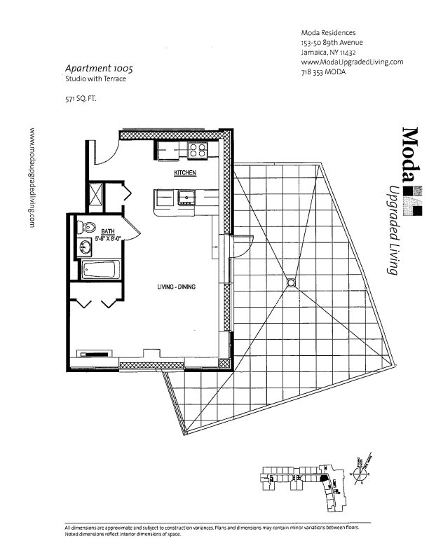 Floor plan for 1005