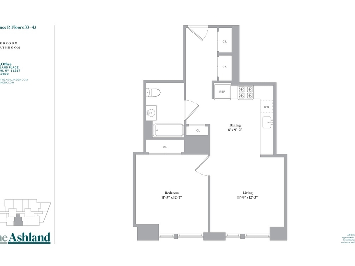 The Ashland #34P Floorplan