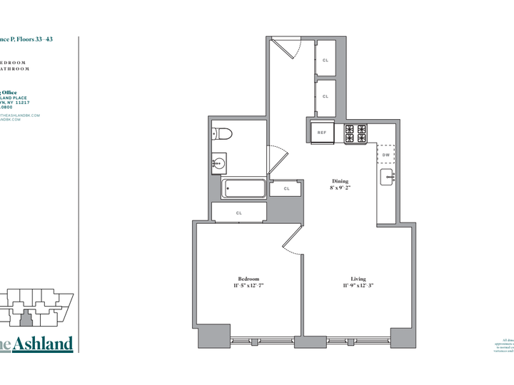 The Ashland #33P Floorplan