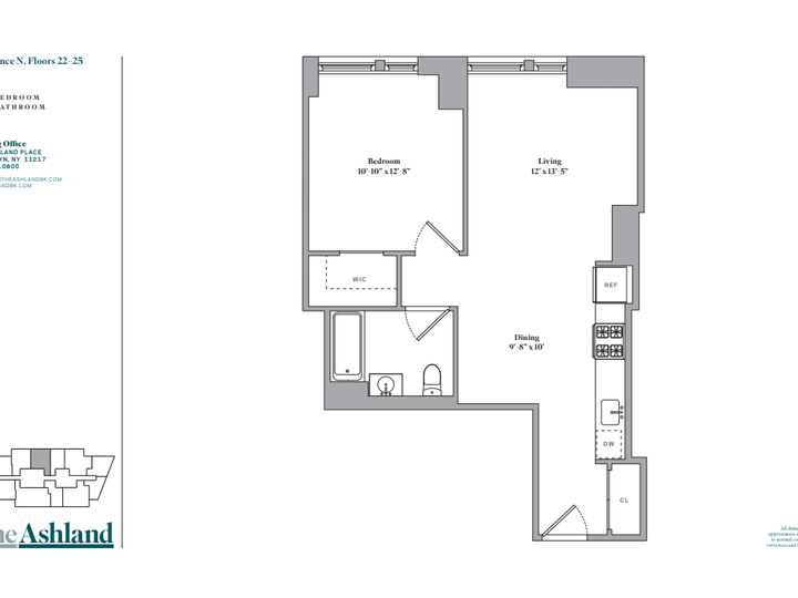The Ashland #23N Floorplan
