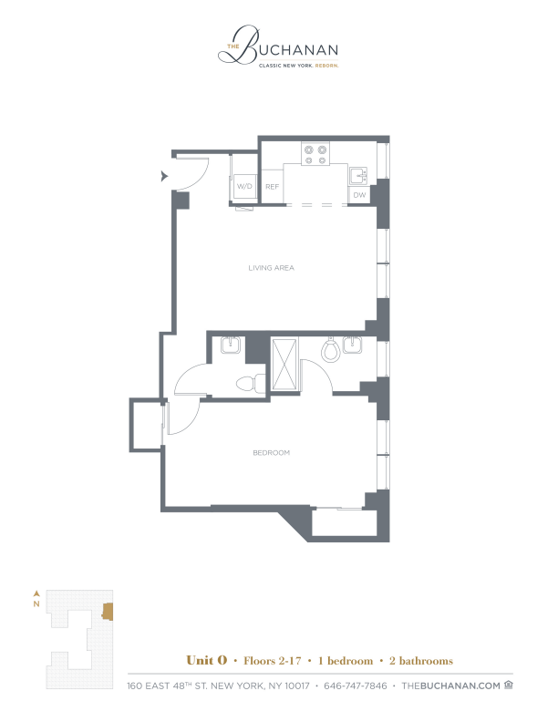 Floor plan for 11O