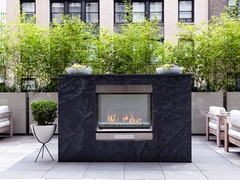 Thumbnail of Atlas New York: 21D a bench in front of a building