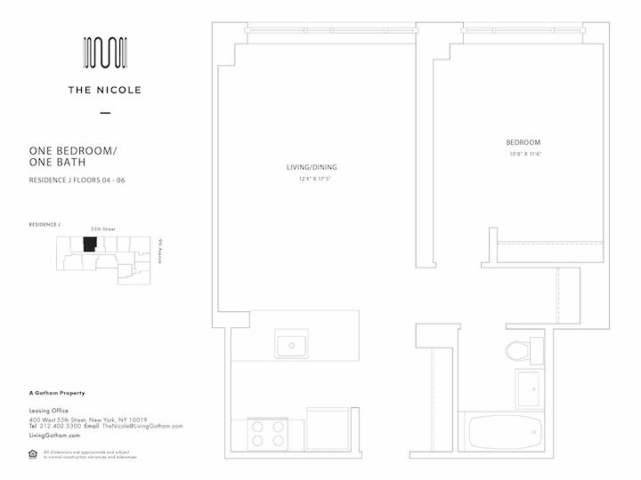 The Nicole #4J Floorplan