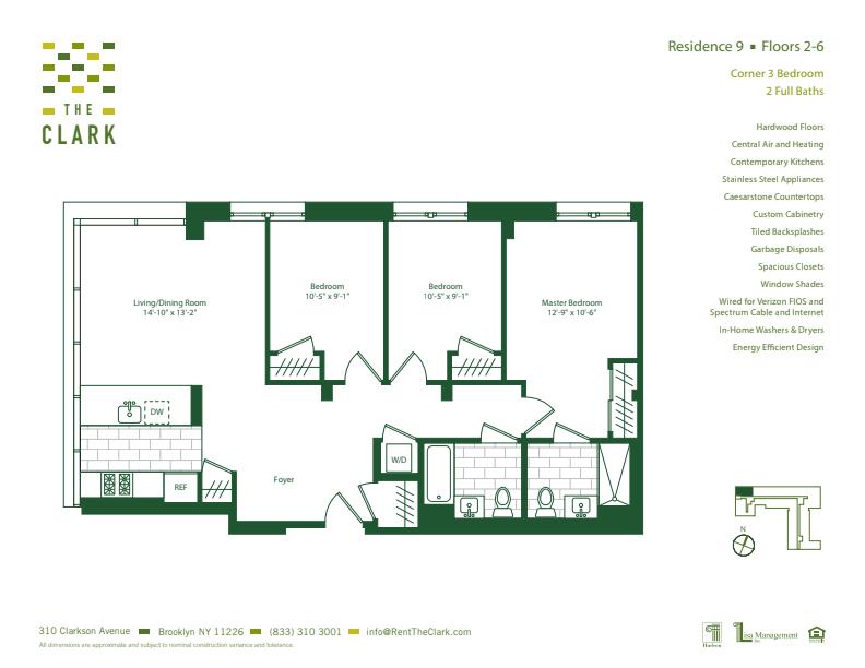 #609 Floor Plan