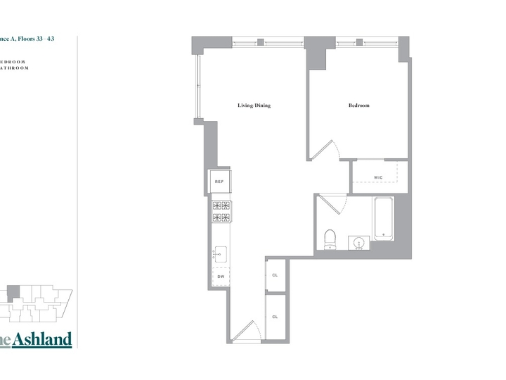 The Ashland #33A Floorplan