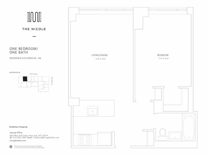 The Nicole #4K Floorplan