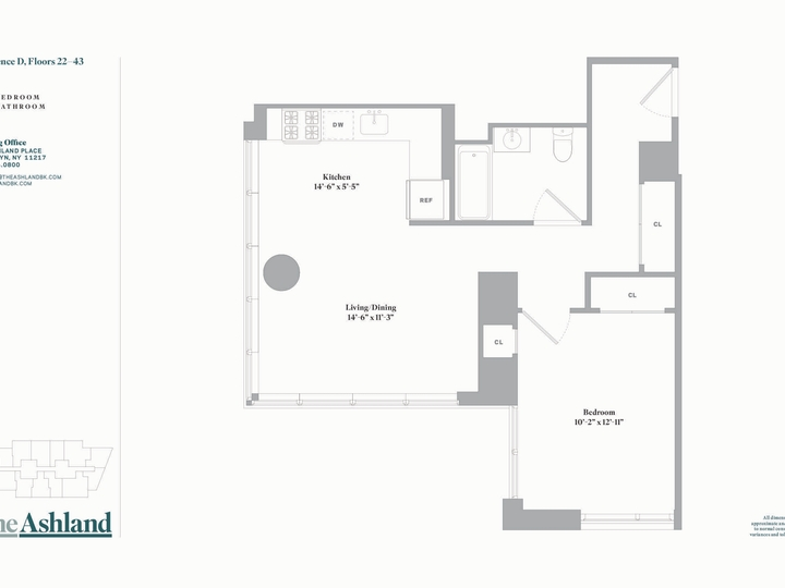 The Ashland #41D Floorplan