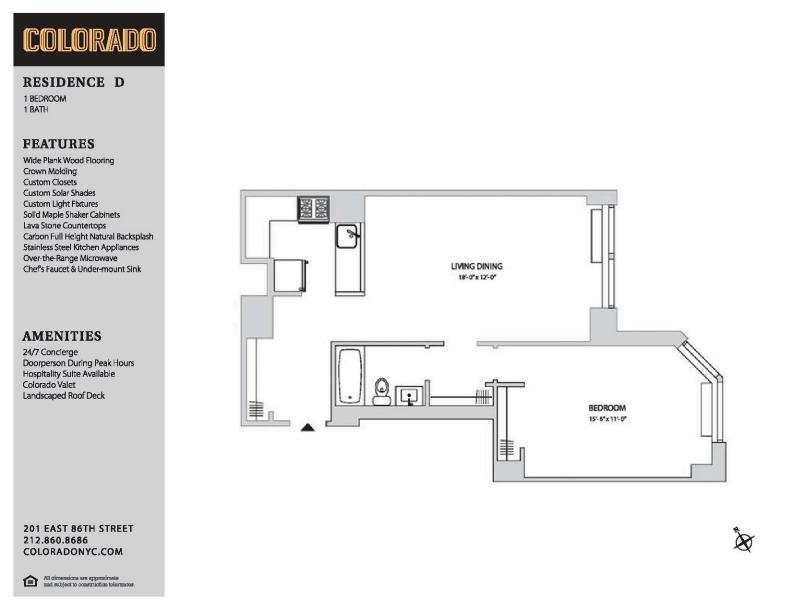 Floor plan for 6-D