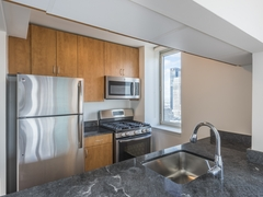 Thumbnail of Atlas New York: 8J a modern kitchen with stainless steel appliances