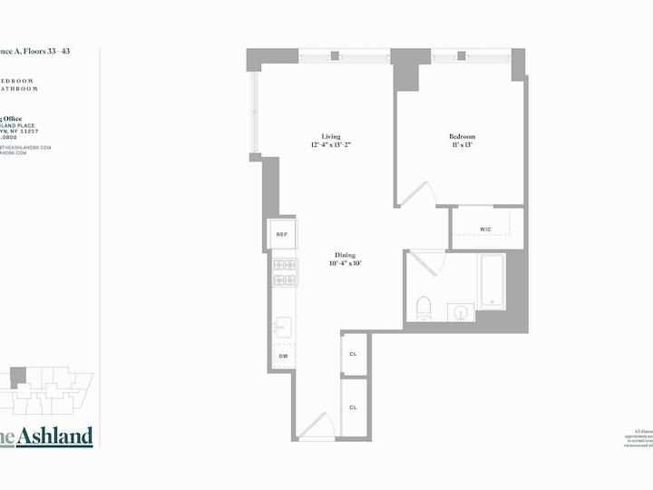 The Ashland #39A Floorplan