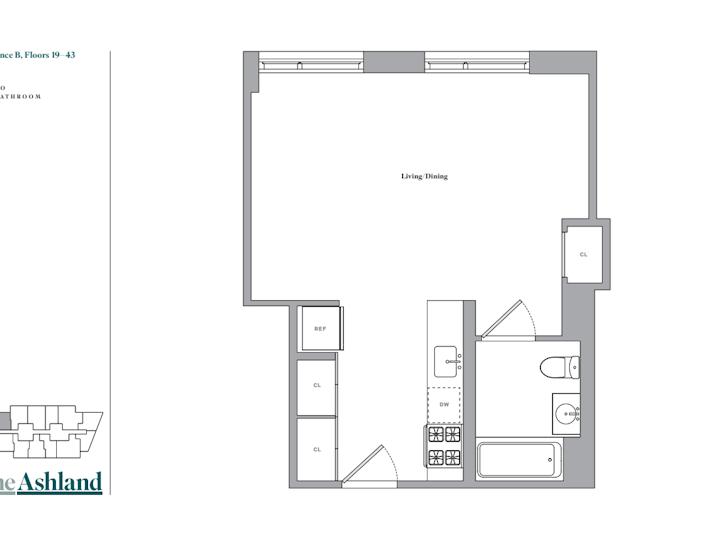 The Ashland #37B Floorplan
