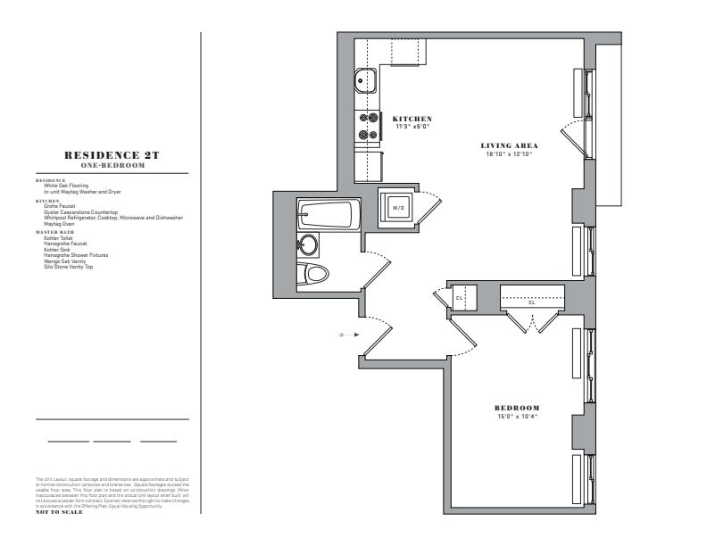 Floor plan for 2T