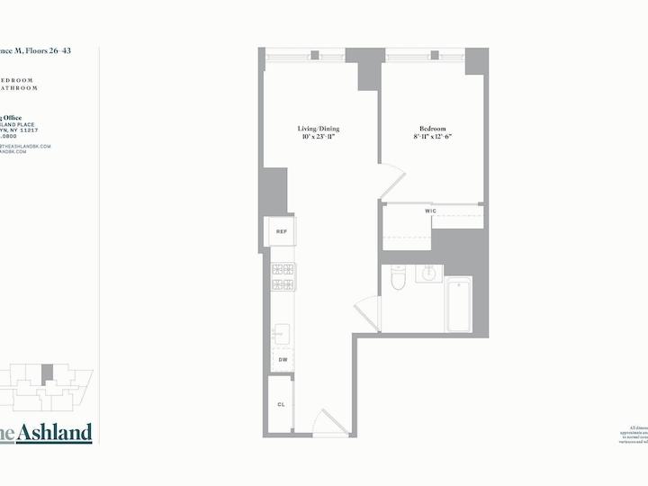 The Ashland #43M Floorplan