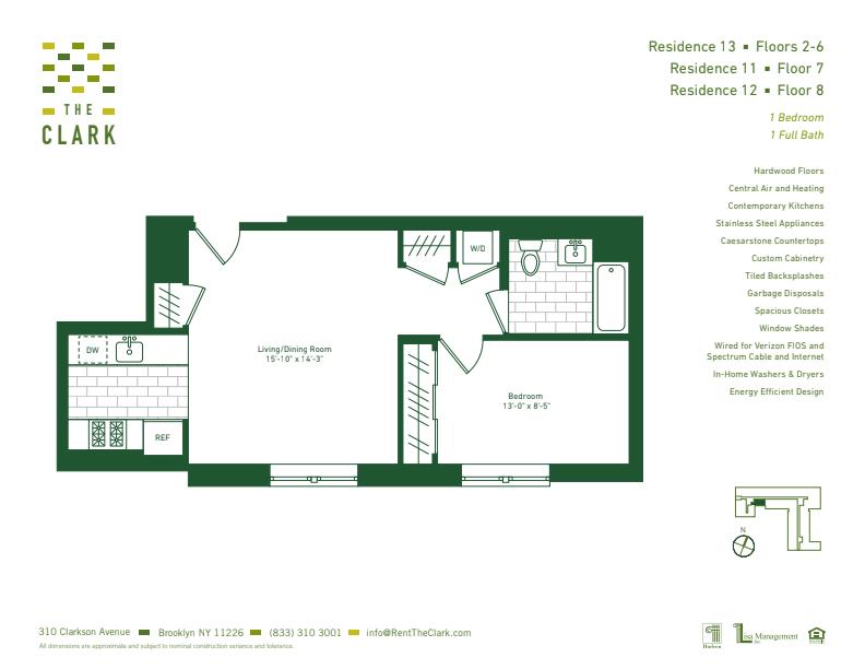#812 Floor Plan