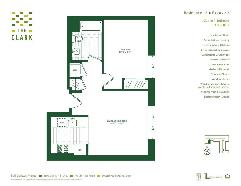 #612 Floor Plan