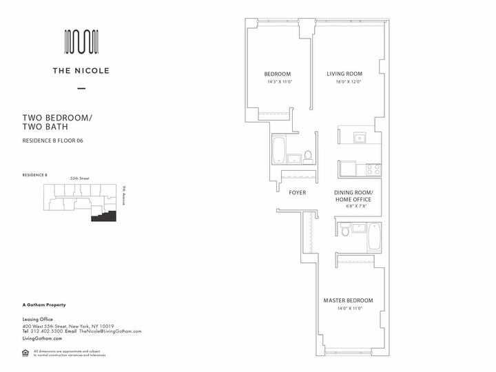 The Nicole #06B Floorplan