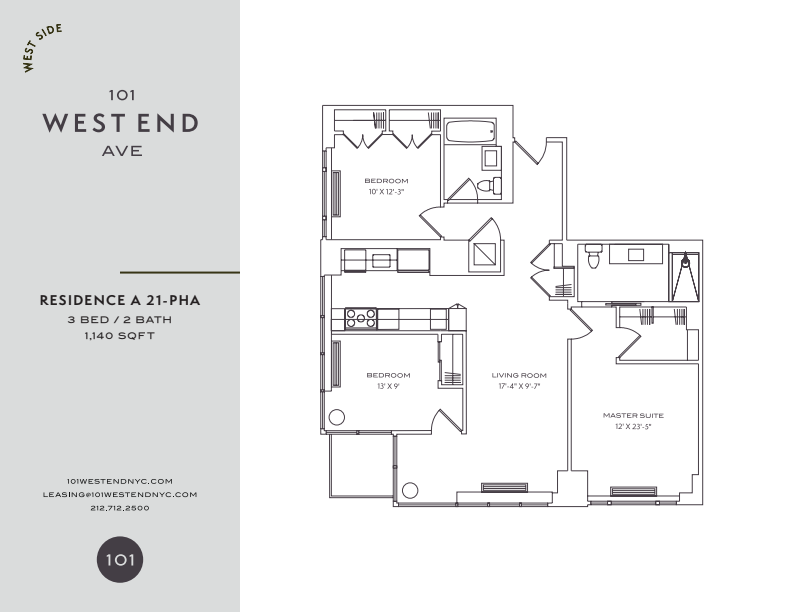 Floor plan for 30A