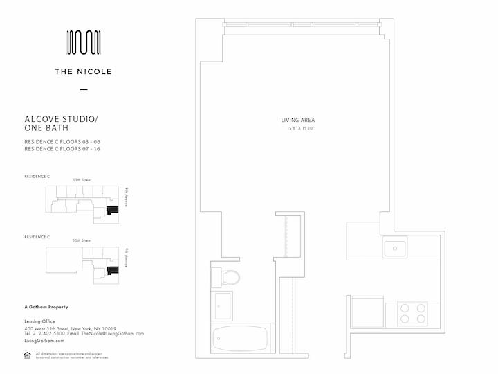 The Nicole #5C Floorplan