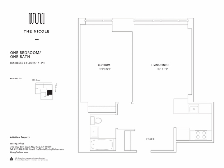The Nicole #19C Floorplan