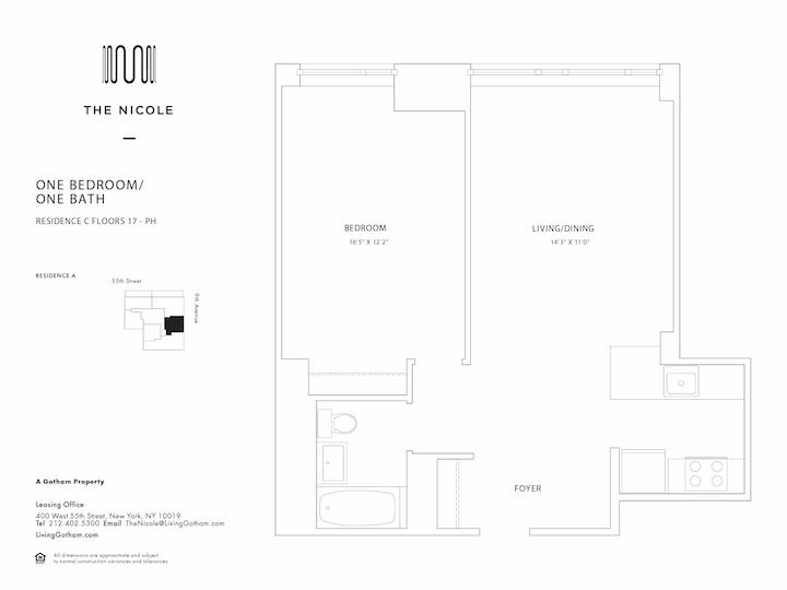 The Nicole #17C Floorplan