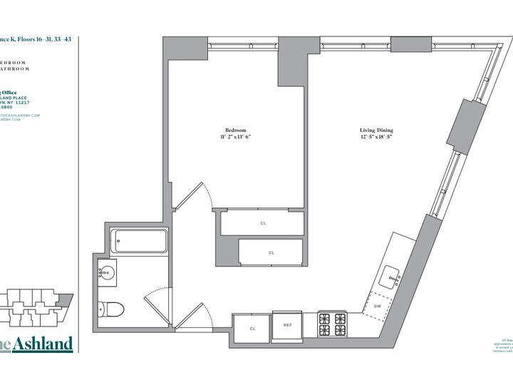The Ashland #25K Floorplan