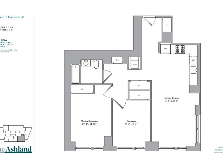 The Ashland #43H Floorplan