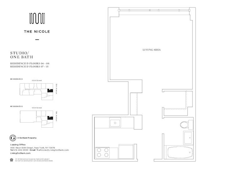 The Nicole #15D Floorplan
