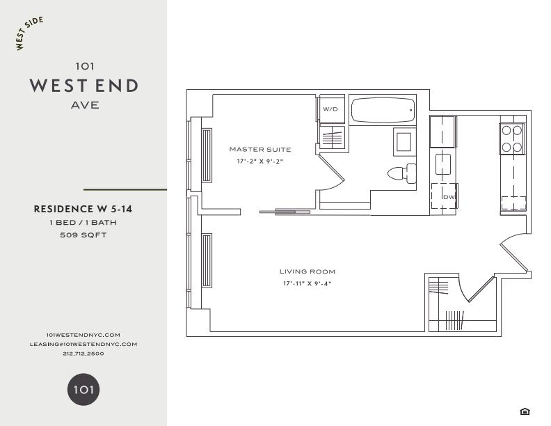 Floor plan for 12W