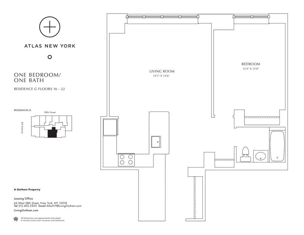 Atlas New York: 20G