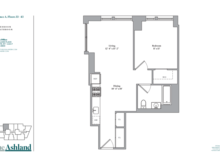 The Ashland #47A Floorplan
