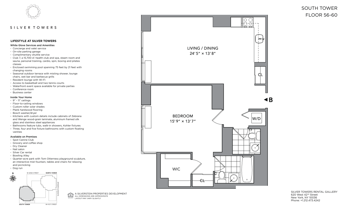 GS58B - Floor Plan